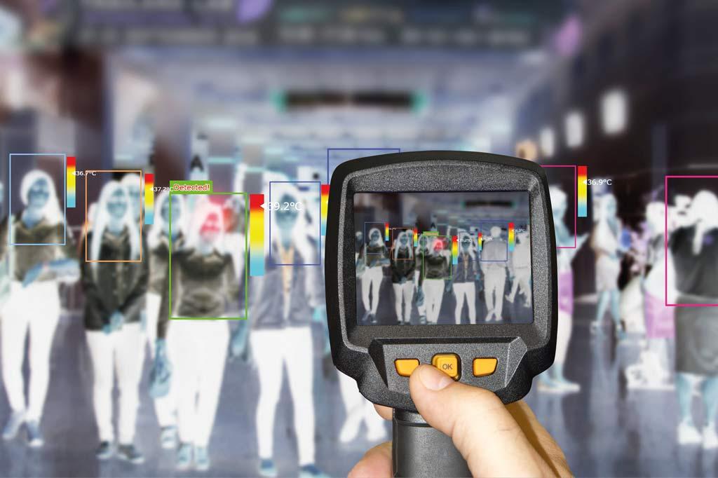 Telecamere termografiche per il rilevamento della temperatura